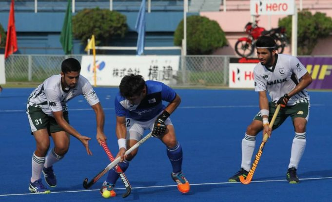 Ajaz's hat trick in Pakistan's 6-3 win over Korea in 3rd place game.
