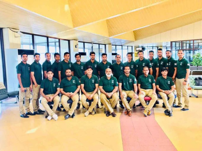 Pakistan hockey team left on Sunday morning for Dhaka to participate in the 10th Asia Cup.