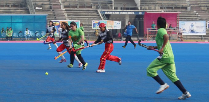 Sindh teams, Punjab Colours & Army Victorious at Women National Hockey