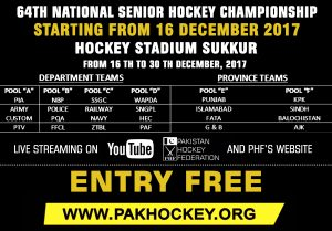 64th NATIONAL HOCKEY CHAMPIONSHIP