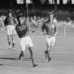 The Pakistan team on the attack against England during the 1956 Melbourne Olympics. The Pakistan side at the time was extremely low on resources.