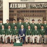 Champion trophy 1994 group photo of team members and officials