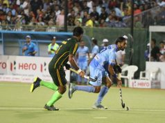 India defeated Pakistan 3-1 at the Fifth Asian Champions Trophy Hockey Tournament at the Sultan Qaboos Sports Complex in Muscat, Oman. SCORERS: Pakistan: M.Irfan Jr India: Manpreet Singh, Mandeep Singh & Dilpreet Singh