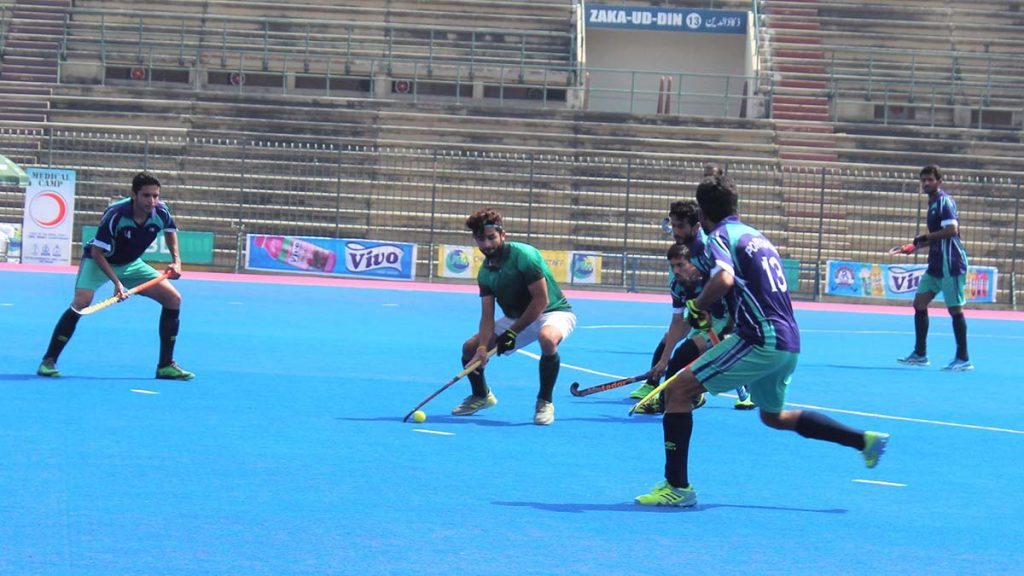 National Bank Downs PQA 3-1 CNS cup domesic match hockey