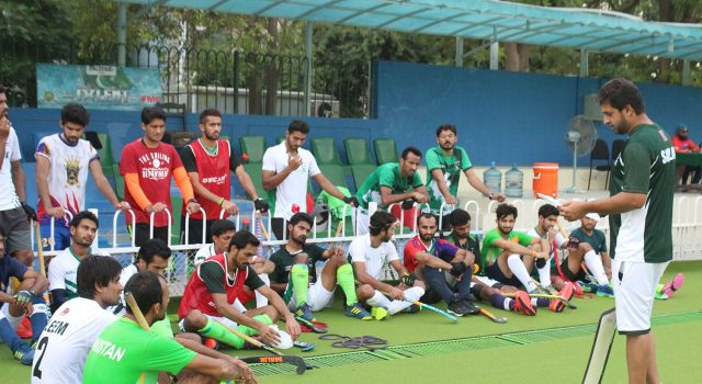 Pakistan hockey team for the fifth Asian Champions Trophy has been announced. M. Rizwan Senior has been named captain for the six team event at Muscat,