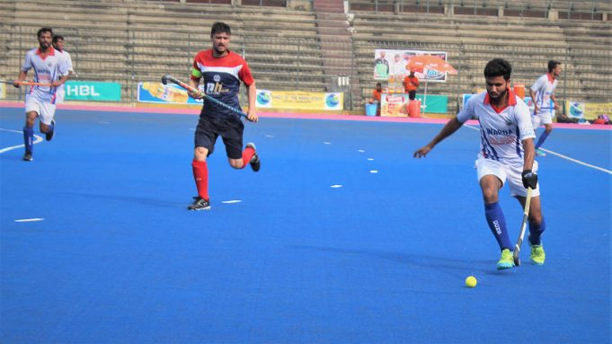Police vs wapda CNS cup domesic match hockey