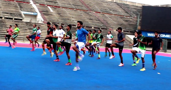 National Hockey Training camp for Olympics qualifier continues in full swing