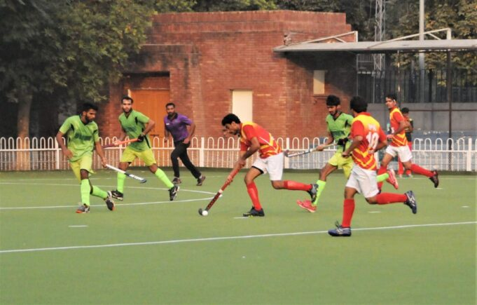 Second day of the 5th National Tray Hockey Championships