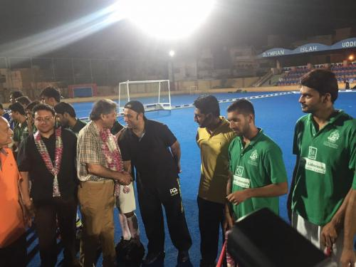 1st Dr Essa Laboratory Quaid E Azam U19 5 A side Hockey Series (11)