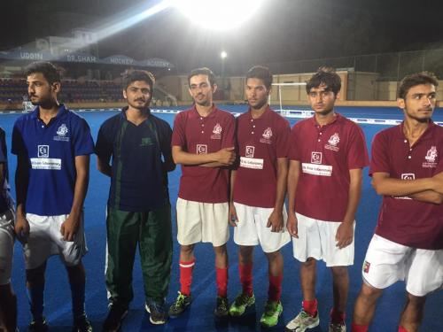 1st Dr Essa Laboratory Quaid E Azam U19 5 A side Hockey Series (12)