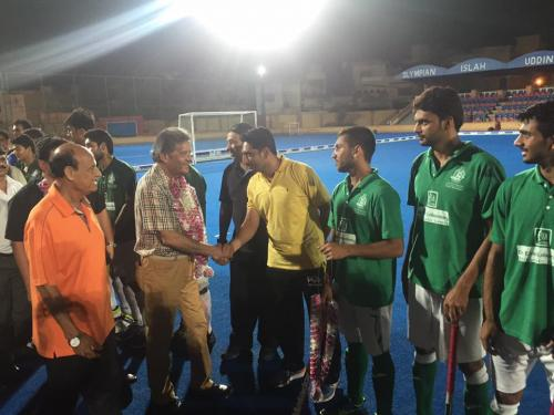 1st Dr Essa Laboratory Quaid E Azam U19 5 A side Hockey Series (27)